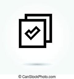 site web, branca, vetorial, fundo, ícone