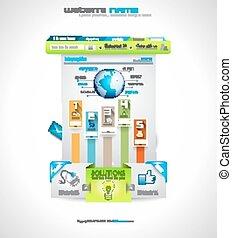 site web, business, purposes., compagnie, classe, élevé, ...