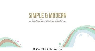 site web, cabeçalho, abstratos, cobrança, fundo