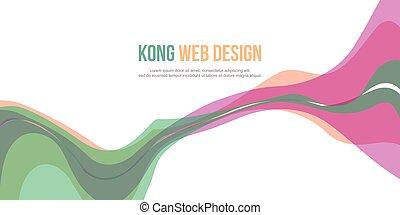 site web, cabeçalho, abstratos, fundo, cobrança