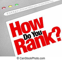 site web, classer, recherche, rang, moteur, comment, vous