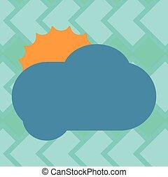 site web, concept, annonce, affaires colorent, média, pelucheux, social, annonces, affiche, derrière, vecteur, conception, vide, vide, soleil, bannières, dissimulation, promotion, nuage, briller