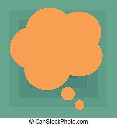 site web, concept, annonce, business, bulle, couleur, média, social, pensée, forme, vecteur, conception, vide, floral, parole, promotion, présentation, bannières, vide, annonces