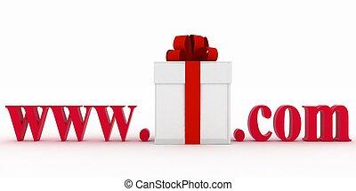 site web, concept, e-affaires, visiter
