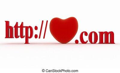 site web, concept, favori, page
