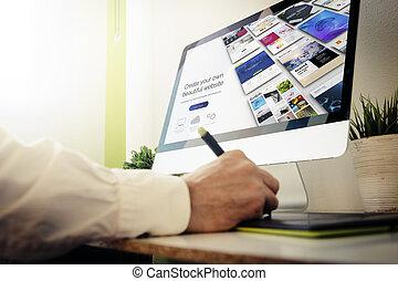 site web, concepteur web, concevoir