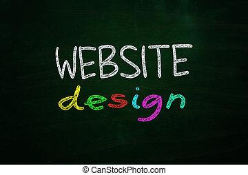 site web, conception