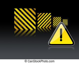 site Web, construção, aviso, sob