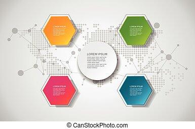 site web, elementos, modelo, negócio, concept., ou, ilustração, template/graphic, diagram., vetorial, fundo, desenho, layout., bandeira, infographic.