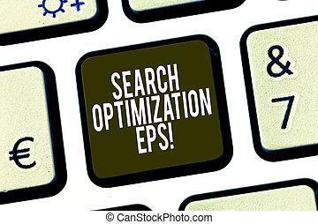 site web, eps., recherche, business, conceptuel, processus, photo, créer, optimization, showcasing, visibilité, écriture, idea., intention, clef informatique, clavier, affecting, message, main, projection