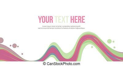 site web, estilo, abstratos, cobrança, onda, cabeçalho, fundo