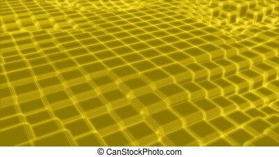 site web, fond, coloré, carrés, cube, art