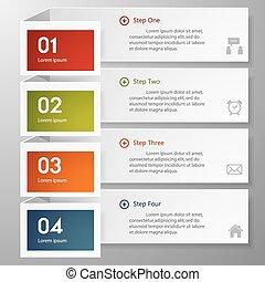 site web, nombre, template/graphic, conception, propre, bannières, layout., ou