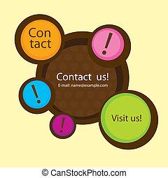site web, nous contacter
