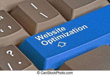 site web, optimization, clã©