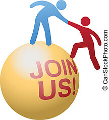 site web, pessoas, juntar, ajuda, social