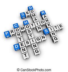 site web, promotion