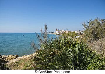 sitges , μεσόγειος θάλασσα