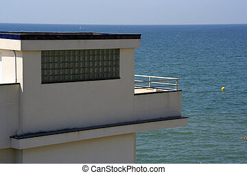 sitges building - appartment on the waterfront in sitges,...