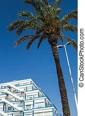 Sitges resort - View of one of the most popular resort of...