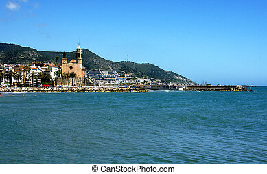 Sitges with Church