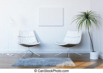 sitio blanco, conve, relajación