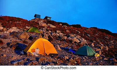 sitio, campamento