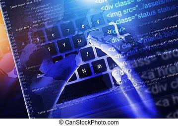 sitio web, código, desarrollo