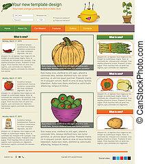 sitio web, plantilla, 37