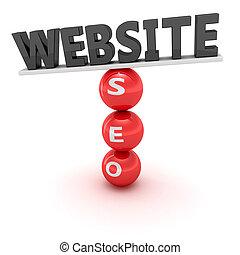 sitio web, seo