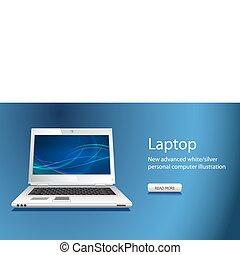 sitio web, slider, con, cuaderno, icono