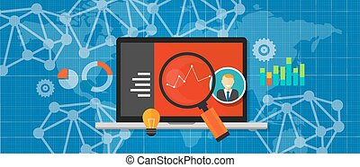 sitio web, tela, analytics, optimization, tráfico, medida,...