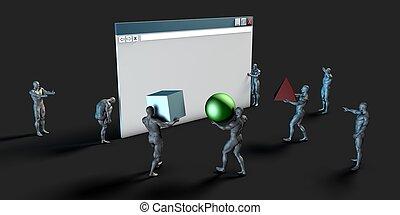 sito web, costruttore