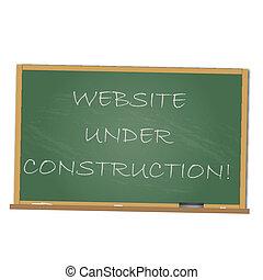 sito web, costruzione, sotto