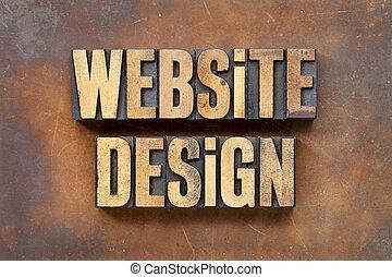 sito web, disegno