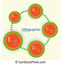 sito web, essere, usato, disposizione, 10, format., moderno, linee, eps, /, o, bandiere, disegno, numerato, sagoma, infographics, disinserimento, vettore, orizzontale, lattina