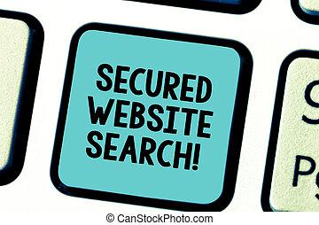 sito web, foto, search., tastiera, comunicazioni, testo, creare, segno, idea., intention, urgente, encrypted, chiave, tastiera, concettuale, messaggio, browser, computer, esposizione, assicurato