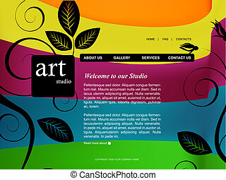 sito web, sagoma