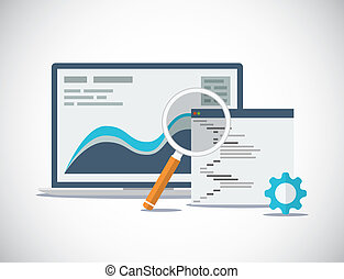sito web, seo, analisi, e, processo, fl