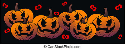 sito web, testata, halloween