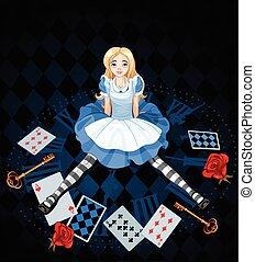 Sitting Alice