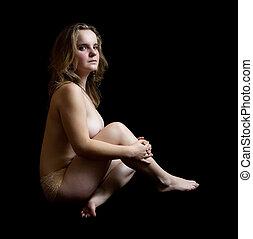 girl-girl-on-stool-nude-curvy