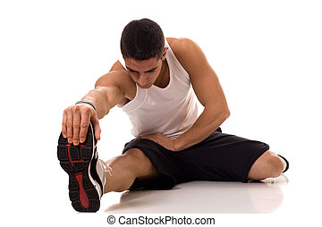 Sitting Hamstring Stretch