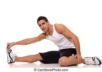 Sitting Hamstring Stretch