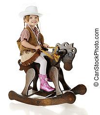 Sitting Pretty Cowgirl