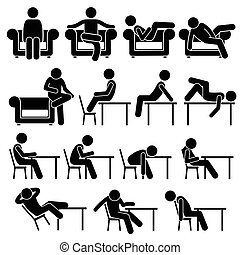 sittong, silla, sofá