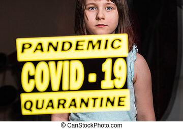 situation., ausbruch, quarantäne, coronavirus, covid-19, ...