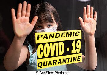 situation., medizin, ausbruch, quarantäne, coronavirus, ...