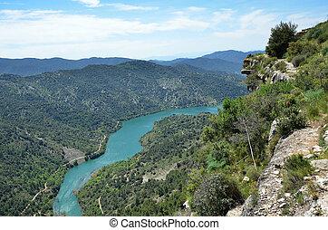 Siurana's surroundings in the Prades mountains