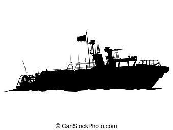 six, bateau moteur